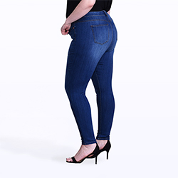 Women's plus size jeans