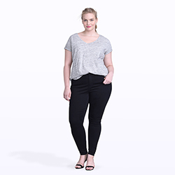 Women's plus size pants